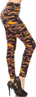 Leggings Depot Women's Ultra Soft Printed Fashion Leggings BAT27