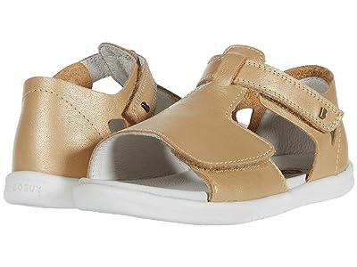Bobux Kids I-Walk Mirror Sandal (Toddler) (Gold) Girl