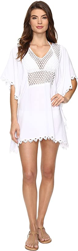 Seafolly - Lace Insert Kaftan Cover-Up