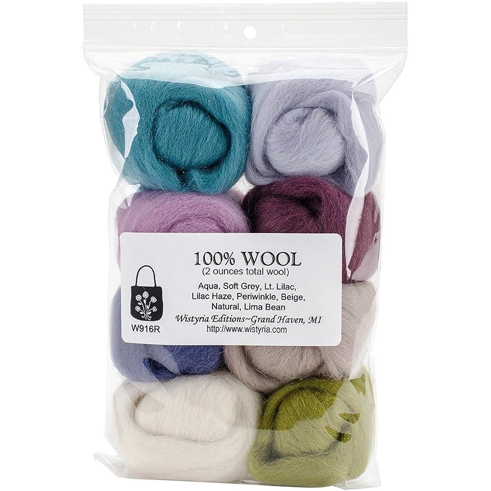 Wistyria Editions W916R N/A Wool Roving 12