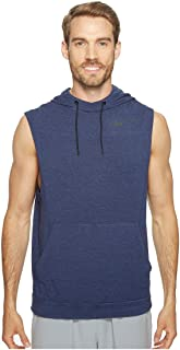 Nike Fleece Pullover Sleeveless Training Hoodie Binary Blue/Black Mens Clothing