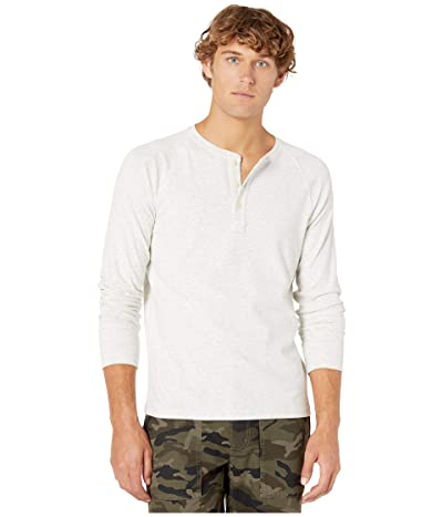 The Normal Brand Long Sleeve Puremeso Henley (Stone) Men