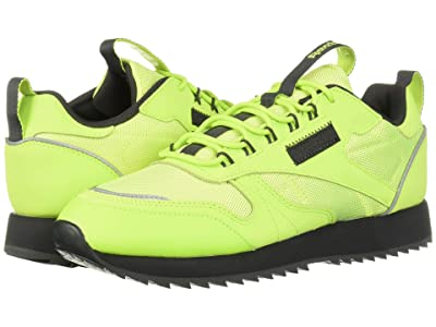 Reebok Lifestyle Classic Leather Ripple Trail (Neon Lime/Neon Lime/True Grey) Women