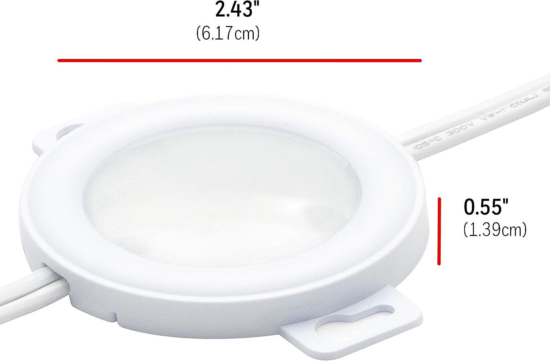 Buy Ultrapro Led Puck Lights 3 Pucks Under Cabinet Lighting 2700k Warm White 385 Lumens Kitchen Counter Plug In Wired Pre Linked 45415 Online In Vietnam B07vm9qz8h