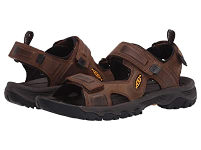 KEEN Targhee III Open Toe Sandal (Bison/Mulch) Men