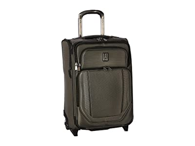 Travelpro 21.5 Crew Versapack Global Carry-On Expandable Rollaboard (Titanium Grey) Luggage