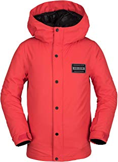 Volcom Boys' Big Ripley Insulated Relaxed Fit Snow Jacket
