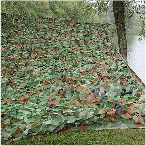 Filet de camouflage visière extérieure Filet de camouflage épaissir filet de camouflage Adapté au camping tente de chasse cachée camouflage parasol écran solaire observation des oiseaux jeu maison Hal