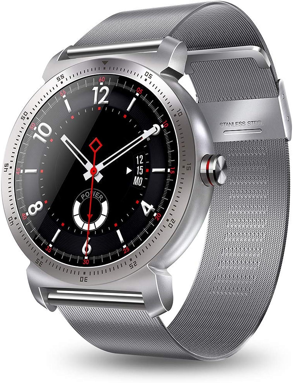 QL Smart Watch, Fitness Tracker mit Herzfrequenz-Schlafüberwachung, Multi-Sport-Modus, Erinnerung an Erinnerungsnachrichten für Android iOS Smartphones.