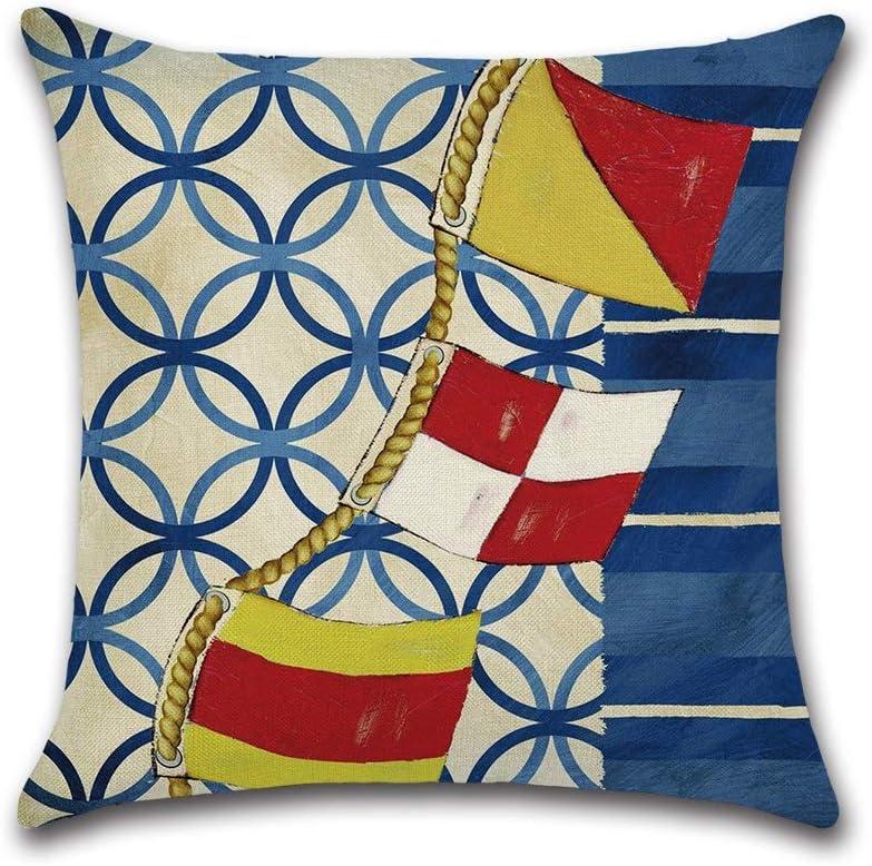 HXF- Super sale period limited Cushion Cotton Comfortable Material Prin Ship Sailing Ultra-Cheap Deals Cloth