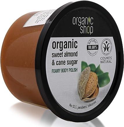 Exfoliante corporal marca Organic Shop