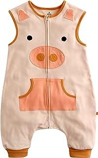 VAENAIT BABY Toddler Kids 1-7Y Wearable Blanket Sleep Piggy M Apricot