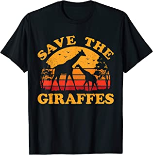 save the giraffes clothing