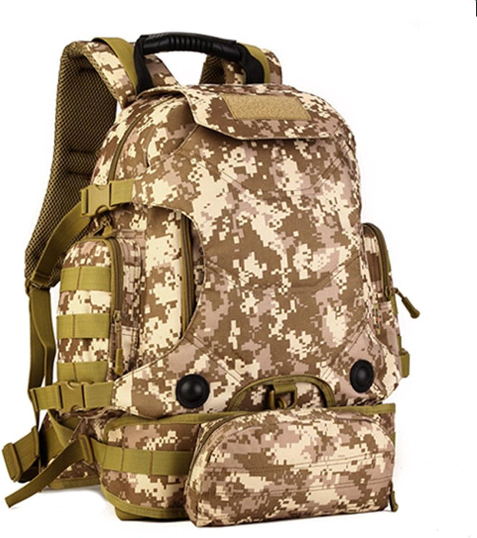 40L Multifunktionale taktische Rucksack mit kombination     Molle rucksack   Bug out Tasche   Armee fans camouflage bergsteigen taschen   Gürteltasche B077BST43F  Vollständige Spezifikation 9ffd32