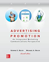 Best advertising and promotion by george belch and michael belch Reviews