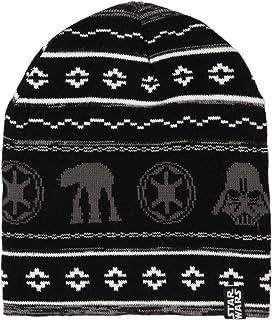 قبعة صغيرة من نسيج حرب النجوم باللون الأسود