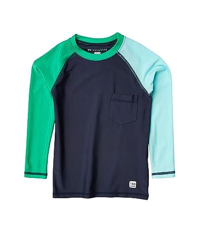 reima Swim Shirt Tioman (Toddler/Little Kids/Big Kids) (Navy) Boy