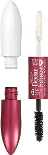 L'Oréal Paris Makeup Double Extend Beauty Tubes Lengthening 2 Step Mascara, Black, 0.33 fl. oz.