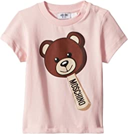 Moschino Kids - Short Sleeve Teddy Bear Ice Cream Graphic T-Shirt (Infant/Toddler)