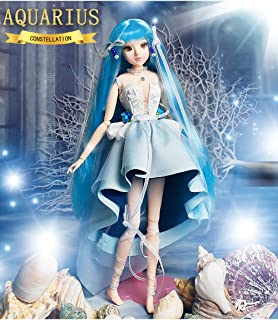 fortune days Mystery Magic Girl BJD doll 12 inch Twelve constellation series doll (AQUARIUS)
