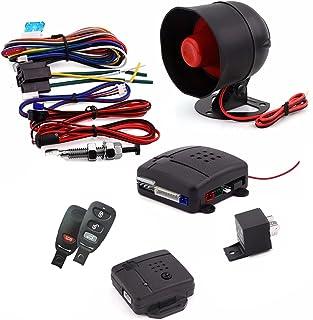 $53 » Car Alarm System with Remote Start, 12V Car Universal Car Alarm, Car Security Products for Car Vans, Cars, Trucks