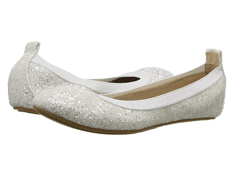Yosi Samra Kids Limited Edition Miss Samara (Toddler/Little Kid/Big Kid) (White Chunky Glitter) Girls Shoes