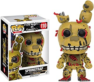 Funko Springtrap: Five Nights at Freddy's x POP! Games Vinyl Figure & 1 POP! Compatible PET Plastic Graphical Protector Bu...