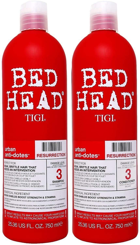 TIGI Bed Head Resurrection Shampoo Conditioner 激安セール 無料 Set by 25.36oz