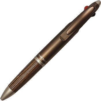 三菱鉛筆 多機能ペン ピュアモルト 2&1 メタリックブラウン MSXE310057M21