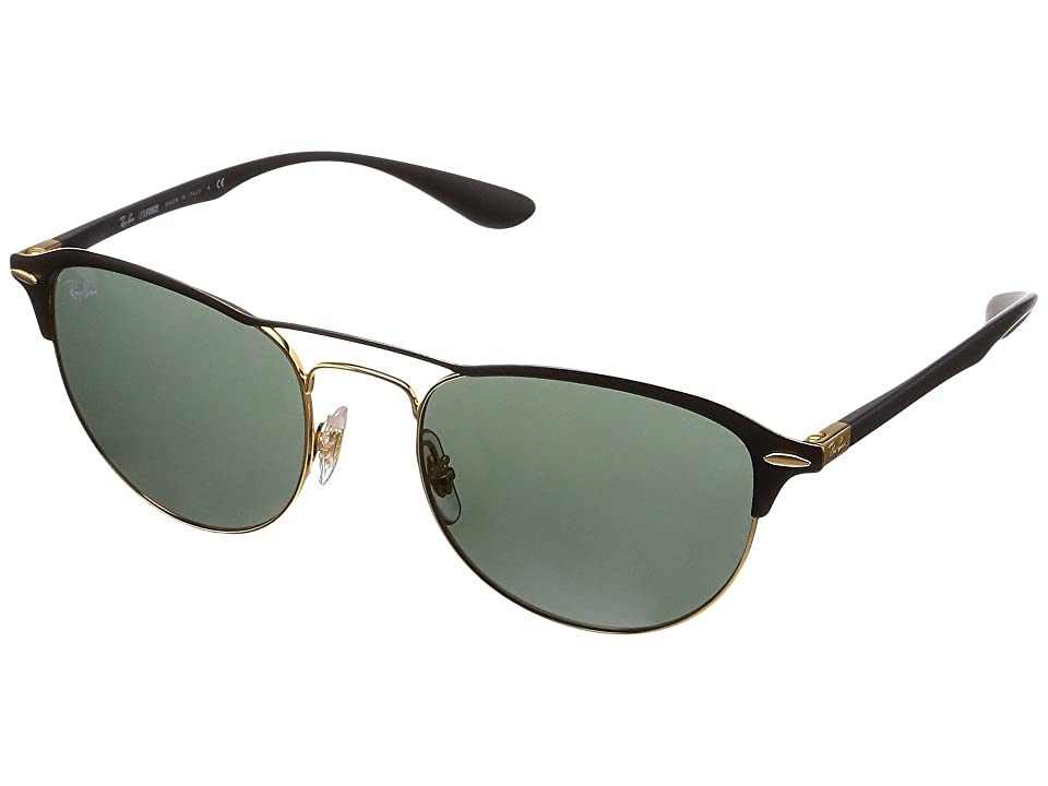 Ray-Ban 0RB3596 54mm (Gold/Dark Green) Fashion Sunglasses