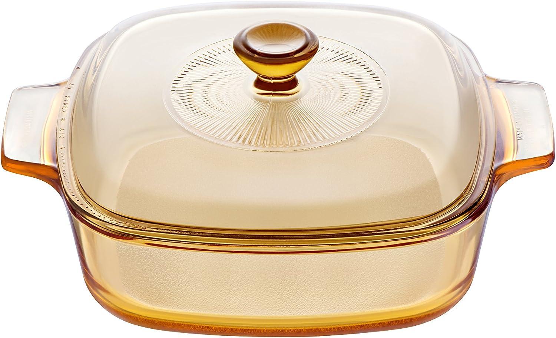 Druckguss antihaftbeschichtet induktionsfreundlich Champagner Glaxa Hochwertige Keramik-Kocht/öpfe 5-teiliges Set mit Deckel aus geh/ärtetem Glas