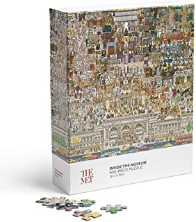 The Metropolitan Museum of Art Inside The Museum Adult Jigsaw Puzzle, 500 Pieces
