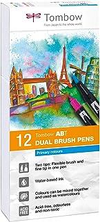 pinceau Tombow Dual Brush-528/Feutre double pointe couleur bleu marine