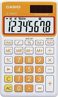 Casio Inc. SL-300VC-PK 标准函数计算器 橙色