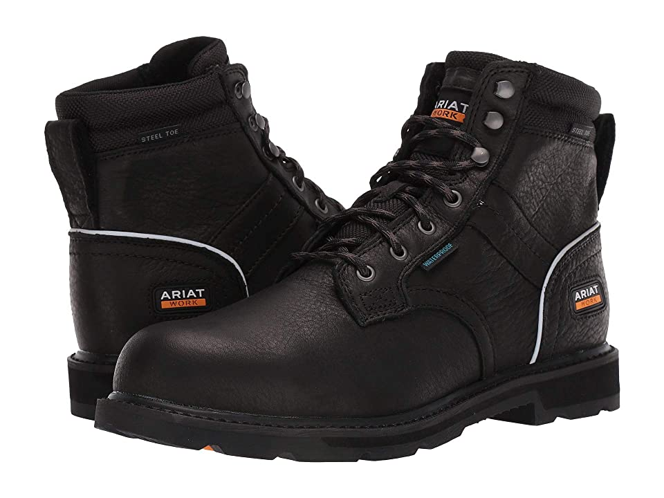 Ariat Groundbreaker 6 II H2O Steel Toe (Black) Men
