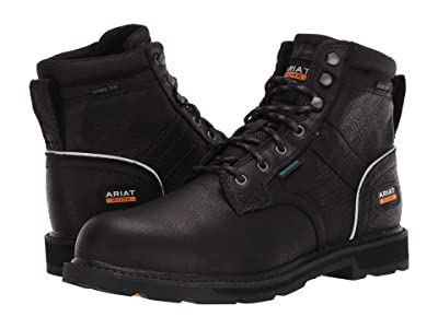 Ariat Groundbreaker 6 II H2O Steel Toe (Black) Men
