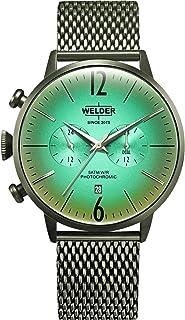 WELDER - Moody Reloj para Hombre Analógico de Cuarzo con Brazalete de Acero Inoxidable WWRC419