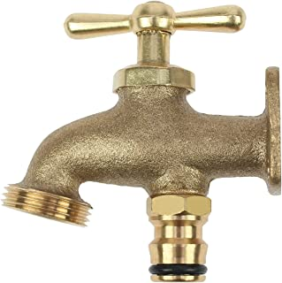 Darlac Brass Take Anywhere Outdoor Tap Garden Watering Irrigation Hose End