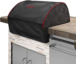Bull 56006 Grill_Covers, Black with Red Trim