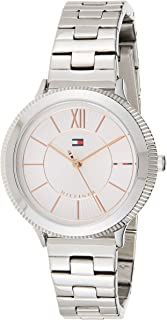 Tommy Hilfiger Womens Quartz Watch, Analog Display and Stainless Steel Strap 1781851