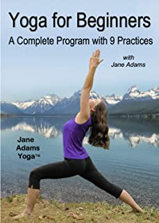Yoga for Beginners: A Complete Program with 9 Practices. 2 dvd set.