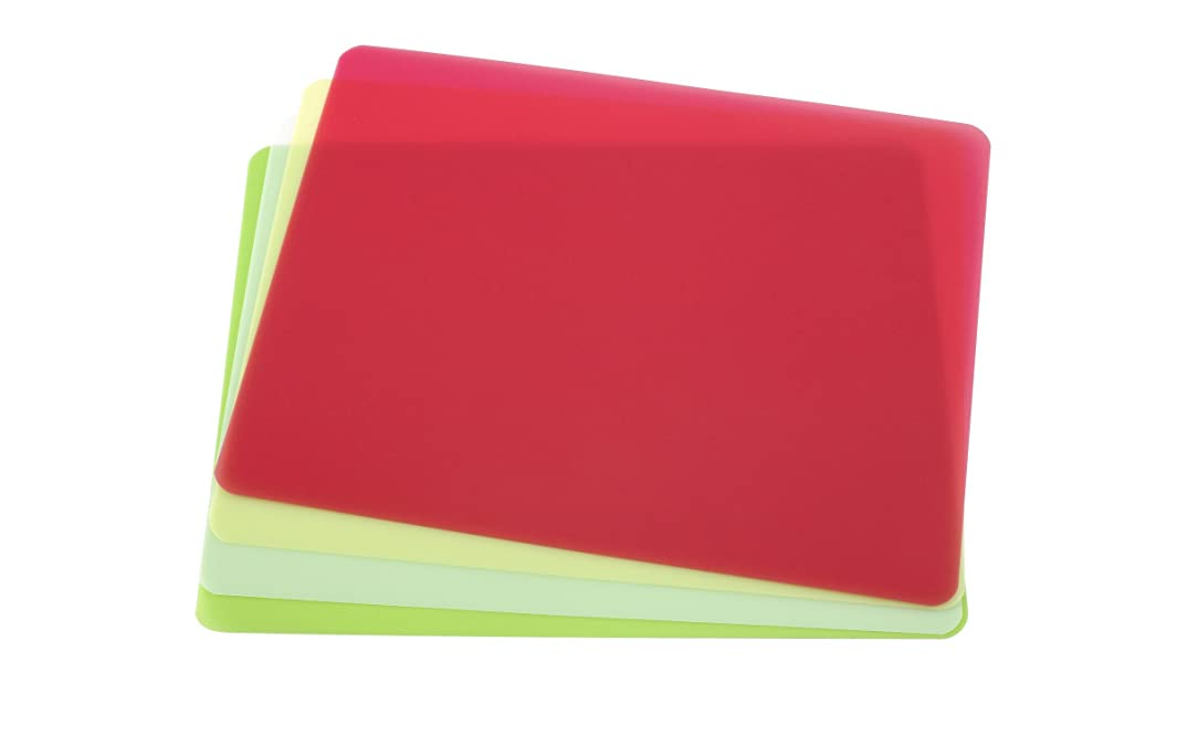 Good Cook Flexible Chopping Mats, 15-3/4-inch by 12-inch, 4-Pack