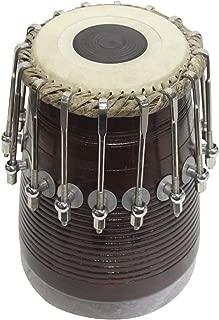 Tabla musical con pernos y tuercas, color marrón/tabla set,tabla trommel,tabla bayan,tabla drums,tabla musik instrument,tabla drum set,indian tabla set