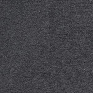 Telio Stretch Organic Cotton Melange Jersey Fabric, Dark Grey, Fabric By The Yard