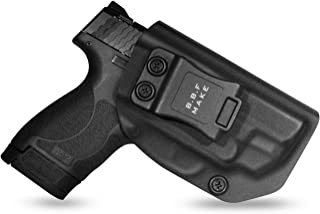 B.B.F Make IWB KYDEX Holster Fit: S&W M&P Shield M2.0 9/40 with Crimson Laser | Retired Navy Owned Company | Inside Waistband | Adjustable Cant | US KYDEX Made