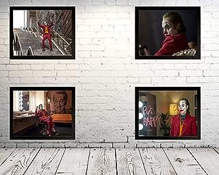 4枚!!【映画ポスタ】JOKER.壁画ポスター壁掛け現代美術壁アートルーム装飾。 合計4個。 サイズ:33cmx28cm(額縁を送る)