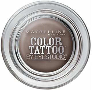 Maybelline EyeStudio Color Tattoo 24Hr Eyeshadow, Tough As Taupe [35], 0.14 oz