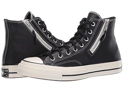 Converse Chuck 70 Hi Love Fearlessly (Black/Egret/Egret) Athletic Shoes