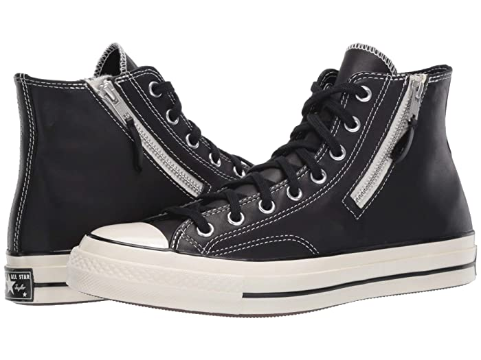 Converse  Chuck 70 Hi - Love Fearlessly (Black/Egret/Egret) Athletic Shoes
