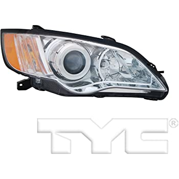 TYC 20-9017-00-1 Subaru Legacy Right Replacement Head Lamp